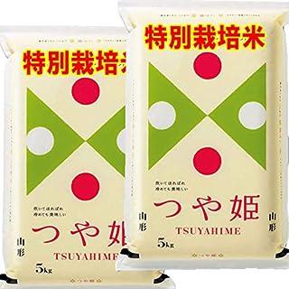 令和元年産 山形産 特別栽培米 つや姫 10kg (5kg×2袋) JAおきたま つやひめ (白米精米(精米後約4.5kg×2))