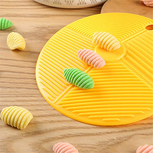 LKJYBG Gelbe Macaroni-Formen,...