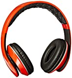 Nakamichi NK950 Series On-The Ear Headphones with Mic - Retail Packaging - Red