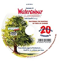 Watercolour As if by Magic Part 4 DVD with Geoff Kersey