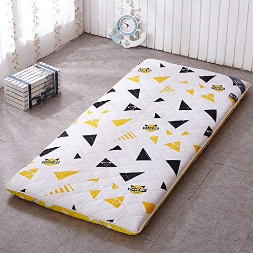 Japanese Floor Tatami Mattress, Thick Tatami Sleeping Mattress Folding Futon Mattress Boys Girls Dorm Mattress Baby Crib Mattress B Layers 100x190cm (39x75inch)