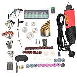 Jingyi Taladro eléctrico, Amoladora eléctrica Set 6 Herramienta de Pulido de Mini Taladro Ajustable de Velocidad Variable 240W(#2)