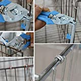 Clamp Hog Ring Pliers Wire Clamp Pliers Standard Cage Tools NEW ,cage forceps is designed to conform to the kinesiology principle.it is semi-automatic. (1 set of cage pliers + 2 boxes of nails)