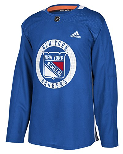 adidas New York Rangers NHL Men's Climalite Authentic Practice Jersey (54/XL)