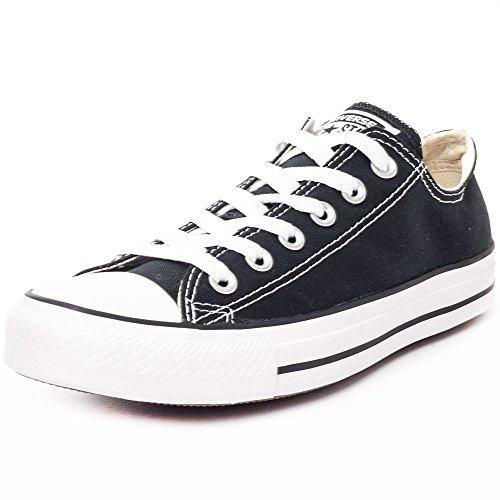 Converse Chuck Taylor All Star Ox, Zapatillas Unisex Adulto, Negro (Black/White), 37.5 EU