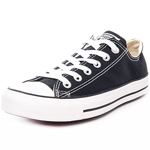 CONVERSE Chuck Taylor All Star Seasonal Ox, Unisex-Erwachsene Sneakers, Schwarz-Weiss(Black/White), 37.5 EU