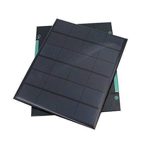 TOOGOO 6V 3.5W Sonnenkollektor Portable Mini Sunpower DIY Modul Panel System fuer Solar Lampe Batterie Spielzeug Telefon Ladegeraet Solarzellen