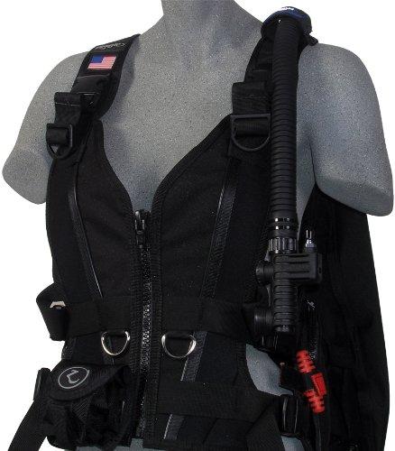 Zeagle Zena Women's BCD (Black, Large)