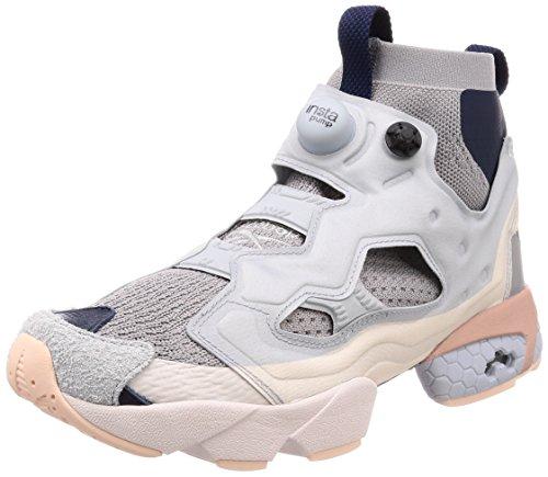 Reebok Instapump Fury OG ULTK DP Mens Running Trainers Sneakers (UK 8.5 US 9.5 EU 42.5, Power Cloud Grey Navy CM9352)