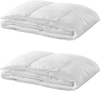 Ikea Thin Insert for Duvet Cover, Twin, White, 2-Pack