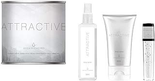 Kit Attractive - Body Splash + Hidratante Corporal + Gloss Agua de Cheiro