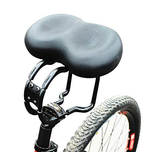 Sillines de Bicicleta Asiento de bicicleta ancho y acolchado Asiento de bicicleta cómodo for personas mayores Extra for hombres y mujeres Reemplazo de asiento de bicicleta cómodo Asiento de Bicicleta
