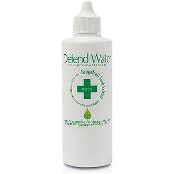 天然素材だけで作った食品添加物由来の天然エコ除菌液「ディフェンドウォーター」DW25