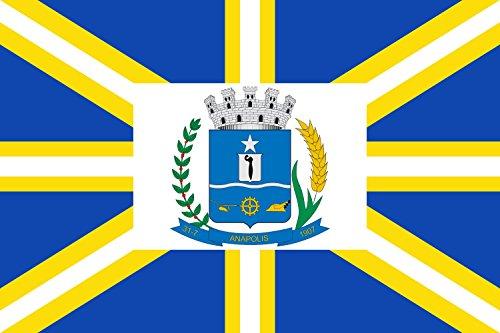 magFlags Bandera Large Municipio de Anápolis Goiás | Bandera Paisaje | 1.35m²...