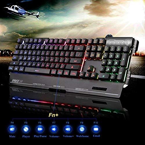 Sades K8 Blademail PC Gaming Teclados 19...