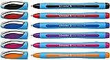 Schneider Slider Memo XB Kugelschreiber (mit Kappe, Strichstärke: XB, Schreibfarbe: sortiert, Made...