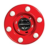 Franklin Sports Street Hockey Puck - NHL - 1 Pack - Red