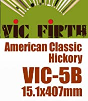 VIC FIRTH ( ビックファース ) VIC-5B American Classic 1セット(1ペア) 洗練された技術と品質を誇るVIC FIRTH Wood Tip