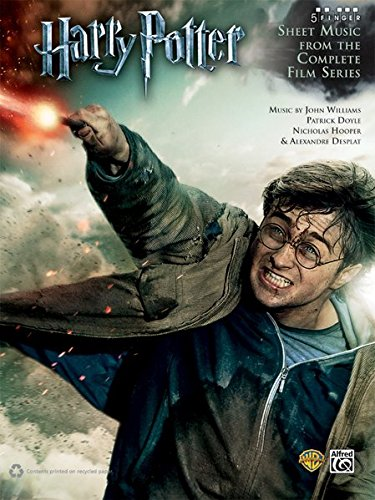 Harry Potter: Sheet Music from the Complete Film Series (5-Finger) (Harry Potter Sheet Mucic)