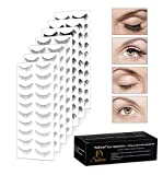 Eye Splashes 70 Pairs False Eye Lashes Bundle - 7 Styles (70 Pairs Bundle)