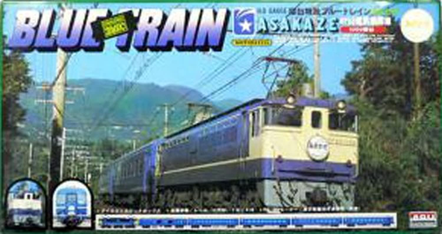 Micro Ace No.4 EF65 bluee Train Asakaze (japan import)