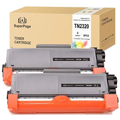 Superpage TN2320 TN-2320 Cartucce Toner compatibili per Brother MFC-L2700DN MFC-L2700DW MFC-L2720DW MFC-L2740DW DCP-L2500D DCP-L2520DW DCP-L2540DN HL-L2300D HL-L2360DN HL-L2365DW HL-L2340DW
