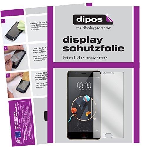 dipos I 6X Schutzfolie klar kompatibel mit ZTE Nubia M2 Lite Folie Bildschirmschutzfolie