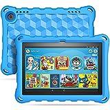 TiMOVO Funda Compatible con All-New Fire HD 8 Tablet (10th Generation, 2020 Release), Portátil Prueba de Choques Ligera Kids Protector Compatible con Fire HD 8 & 8 Plus 2020 Tableta - Azul