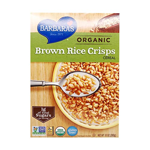 Barbara's Bakery Organic Brown Rice Crisps Cereal, 10 oz