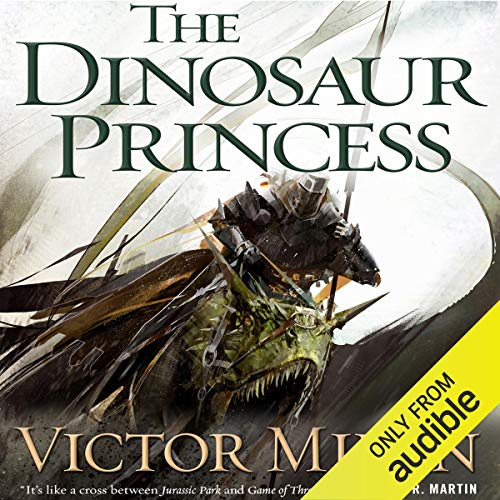 The Dinosaur Princess audiobook cover art