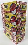 Top Regular Full Flavor Red RYO Cigarette Tubes - 100mm 200ct Box (50 Boxes)