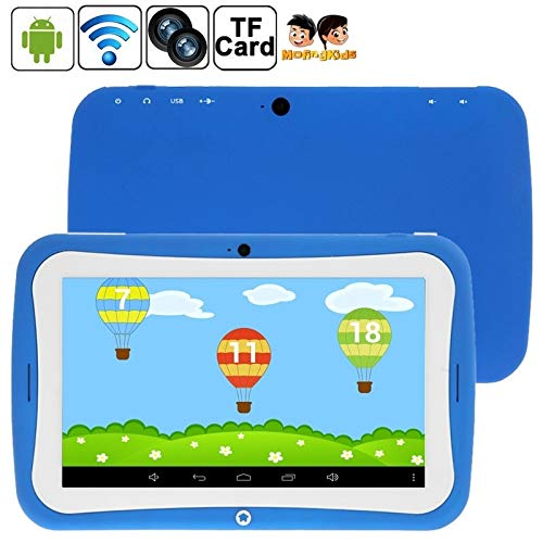 YUZEBIN 7.0 inch Android 4.2.2 Kids Education Tablet 4GB(Orange) (Color : Blue)