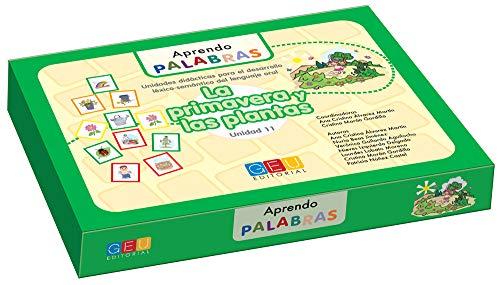 Aprendo palabras. Unidad 11: La primavera y las plantas / Editorial GEU/ Diseñado para maestros E.Infantil / Enseña vocabulario básico