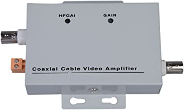 XHTECH Coaxial Cable BNC Video Signal Amplifier Booster CCTV