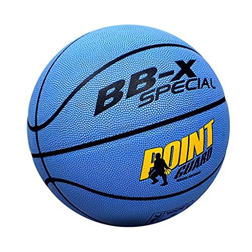 City Street Basketball-Cuero Compuesto Uso En Interiores Y Exteriores-Tamaño 7-Tamaño Oficial Y Peso para Hombres, Mujeres, Adolescentes, Colores Brillantes