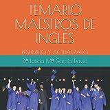 TEMARIO MAESTROS DE INGLÉS: VOLUMEN I