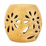 FARKRAFT Ceramic Ethnic Handcrafted Aroma Diffuser , Fragrance : Lemongrass Oil