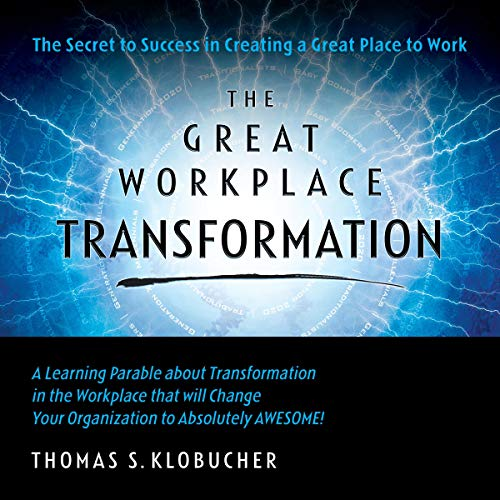 The Great Workplace Transformation audiobook cover art