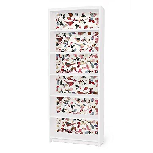 Apalis Vinilo Adhesivo para Muebles IKEA - Billy Bookshelf - Look Closer, Größe:2 Mal 94cm x 76cm