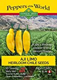 Aji Limo Pepper Seeds- Spicy Andean Chile with...