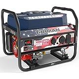 Firman P03611 4550/3650 Watt Recoil Start Gas Portable Generator with Stars and Stripes Print