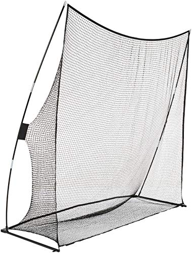 AmazonBasics Portable Driving Practice Golf Net, 8-Foot x 8-Foot