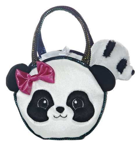 Aurora - Pet Carrier - 7' Pretty Panda Pet Carrier, Multi, One Size