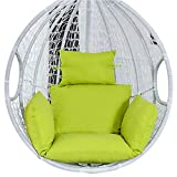 Levuyou Cuscino per Sedia a Dondolo Extra Large Cuscini per sedie a Uovo appesi Cuscino per sedie da Patio Adatto per Interni/Esterni
