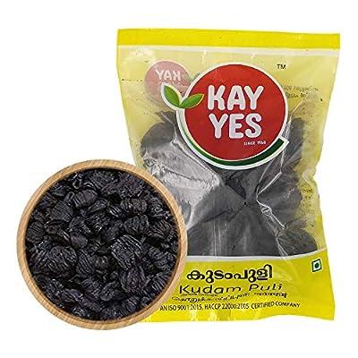 Dharma Kayes Brindleberry/Kudampuli/Garcinia Cambogia/Goraka/Malabar Tamarind - Kerala Origin - 250 Grams (Pack of 1)