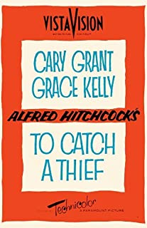 To Catch a Thief Movie Poster (27 x 40 Inches - 69cm x 102cm) (1955) Style D -(Cary Grant)(Grace Kelly)(Jessie Royce Landis)(John Williams)(Charles Vanel)(Brigitte Auber)