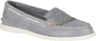 Top-Sider Conway Kiltie Boat Shoe Women 8.5 Grey
