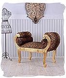 Königliche Chaiselongue Sofa Antikstil Leopard Rokoko Sitzbank Leo cat591a16 Palazzo Exklusiv
