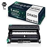 1 Pack Black DR420 Drum Compatible for Drum Unit Replacement for Brother DCP-7060D DCP-7065D HL-2220 MFC-7360N HL-2242D MFC-7860DW HL-2275DW Printer,Drum Unit.