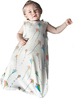Saco de dormir para bebé, 100% algodón orgánico, para todo el año, sin mangas, 2,5 tog, 0 – 6 meses, 60 cm o 6 – 18 meses,...